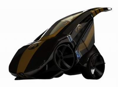 Teknoloji harikası bu otomobil katlanabiliyor