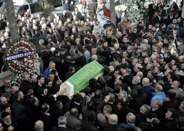 Bafra'da Vedat Şahin ve Ferdi Topal için cenaze töreni