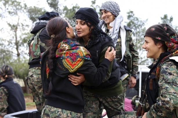 YPG Kasaib'i IŞİD'den geri aldı