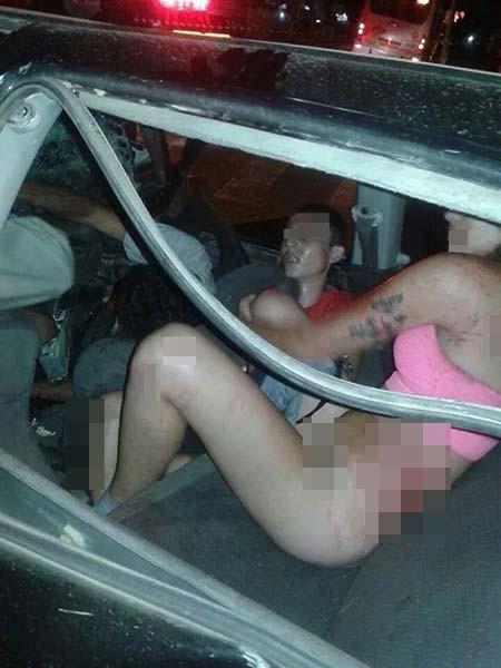 Arabada seks partisinin sonu kötü bitti!