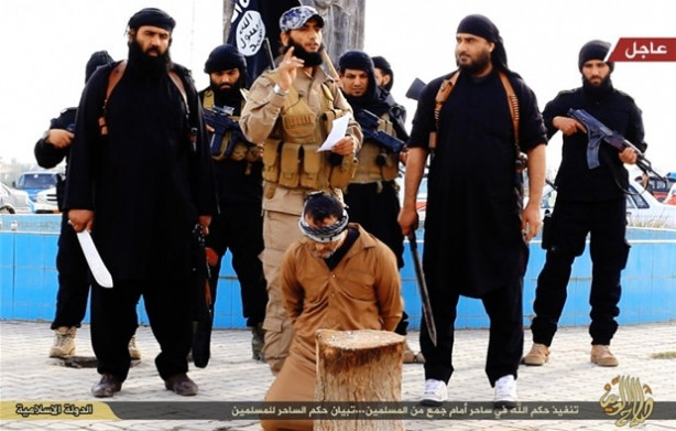 Yine IŞİD yine vahşet !