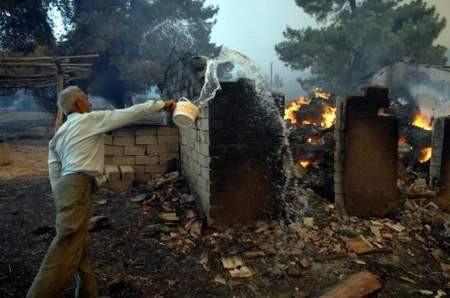 Antalya alev alev yanıyor !