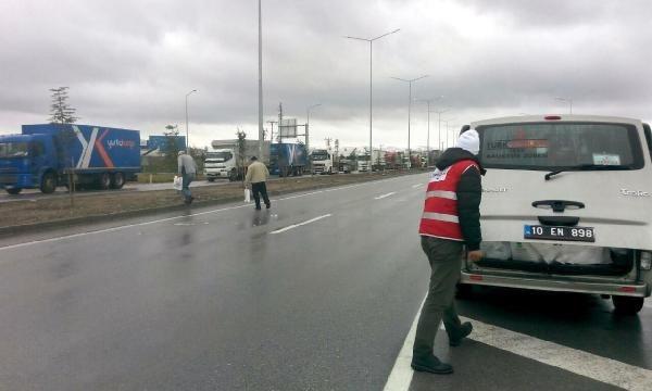 İzmir-İstanbul yolu 45 saat sonra açıldı!