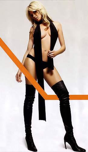 Heidi Klum saçlarını kısalttı