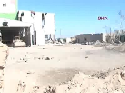 100 IŞİD militanın öldürüldüğü operasyonun görüntülerini yayınladı