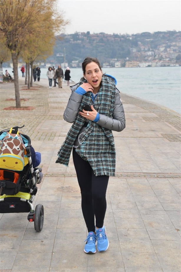 Zehra Çilingiroğlu:  'Annemin poposuna mı vurmuş'