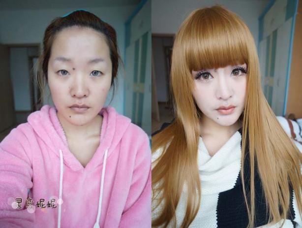 Makyajla gelen güzellik