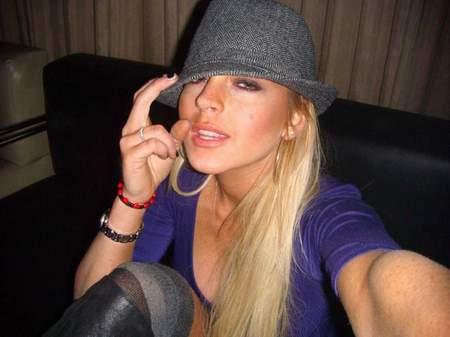 Lindsay Lohanın özel pozları basına sızdı !