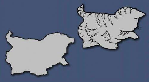 Bakın haritamızı neye benzettiler?