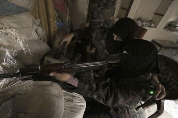 Halep'te 'Ayşe Ana Tugayı' görüntülendi...
