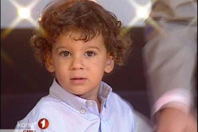M.Alinin oğlu canlı yayında !