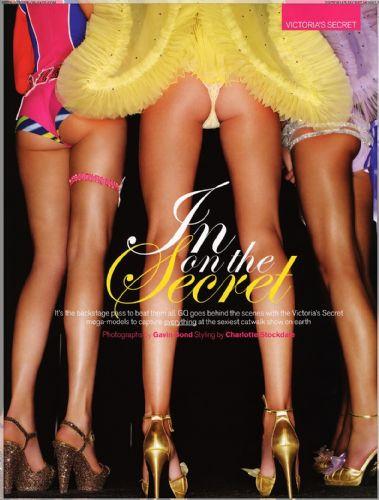 Victorias Secret melekleri GQya poz verdi
