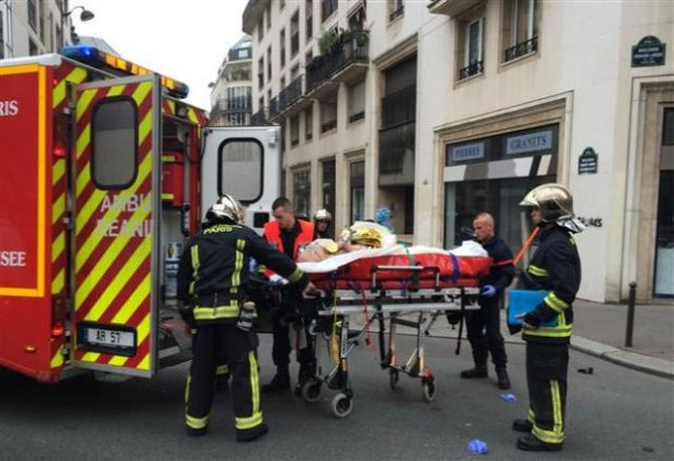 Fransız dergisi Charlie Hebdo'ya saldırı