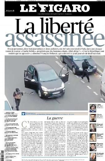 Fransa medyası Paris saldırısını böyle duyurdu