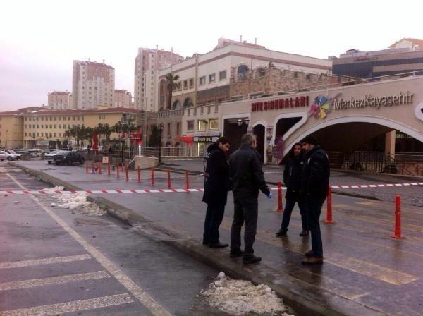 AVM önünde bomba bulundu