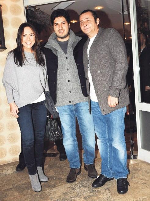 Demet-Okan çifti Ebru Gündeş-Reza Zarrab ile görüştü!