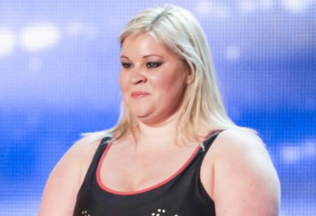 Obez kadın izleyenleri şaşırttı