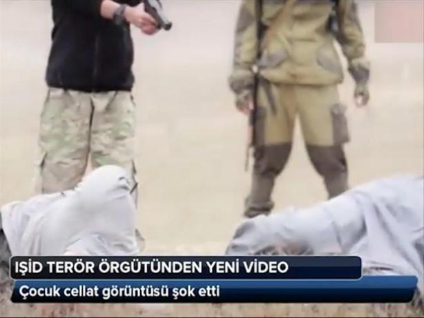 IŞİD'in çocuk cellatı!
