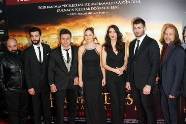 'Kara Murat' filmine damga vurdu!