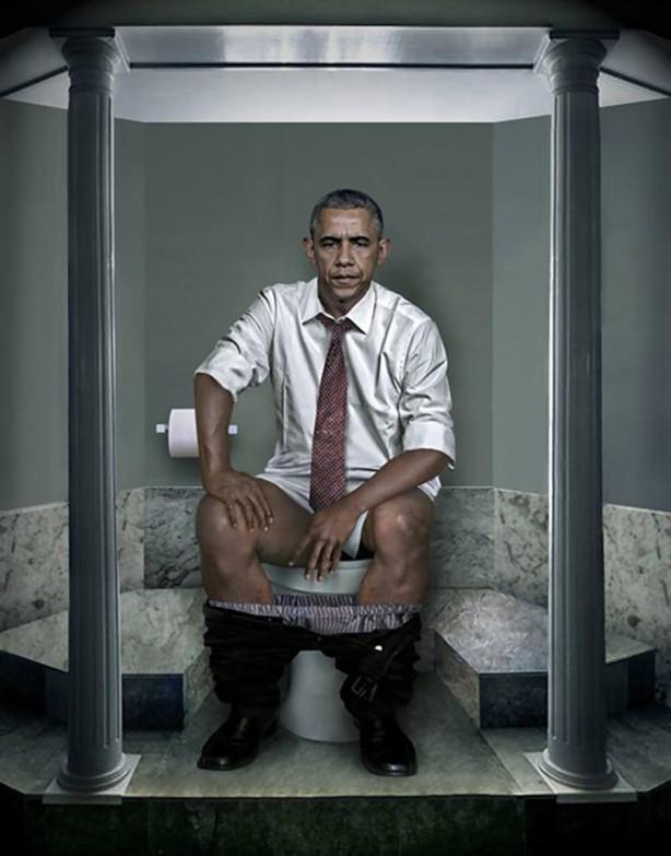 Dünya liderlerinin tuvalet halleri