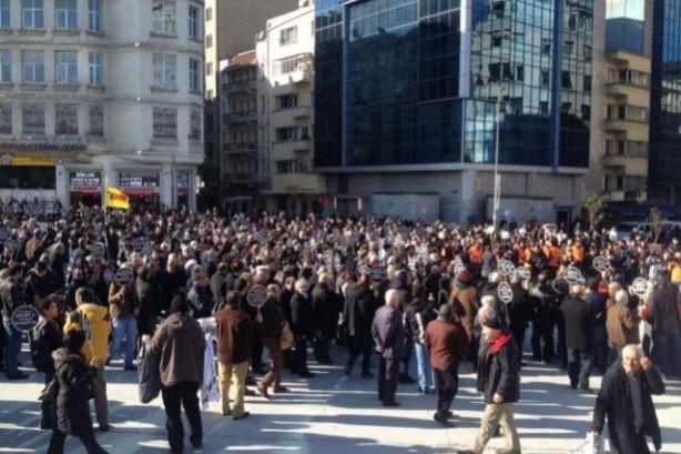Onbinler Hrant'ı andı!