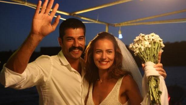 Burak Özçivit ve Fahriye Evcen'den nikah provası