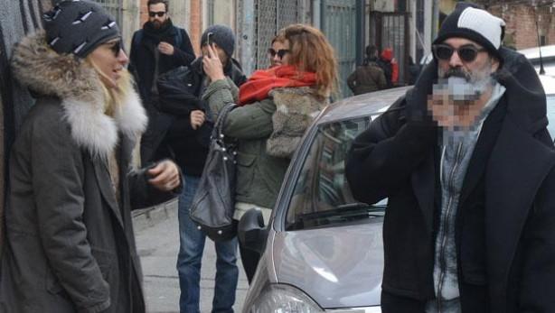 Burcu Esmersoy ve Can Verdi Karaköy turunda