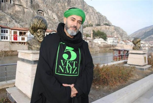 Yaşar Alptekin Amasya'da böyle görüntülendi