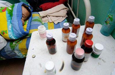 AIDS kurbanı çocuklar