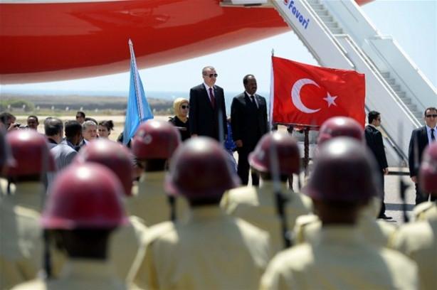 Cumhurbaşkanı Erdoğan Somali'de
