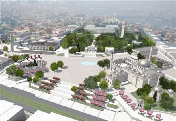 Beyazıt Meydanı böyle olacak