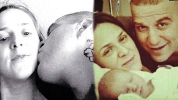 Gökhan-Melis Özoğuz çifti bebekten sonra ilk kez poz verdi
