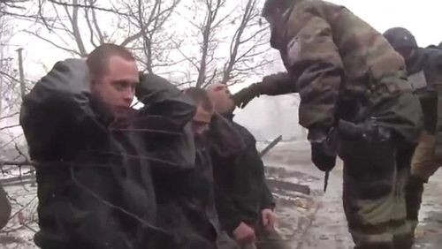 Ukrayna'da şok görüntüler!