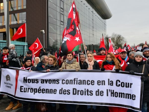 Perinçek Strasbourg'da