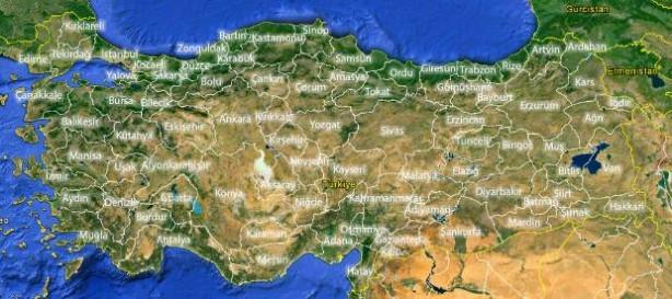 İşte il il Türkiye nüfusu