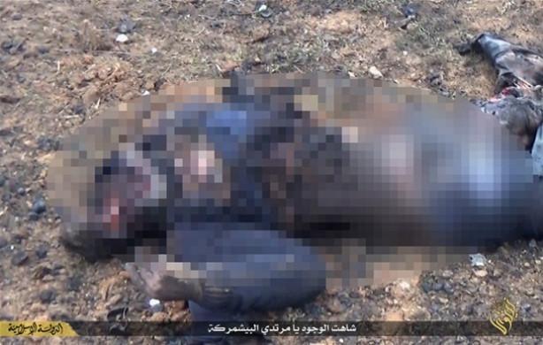 IŞİD casuslukla suçladığı bir kişiyi infaz etti