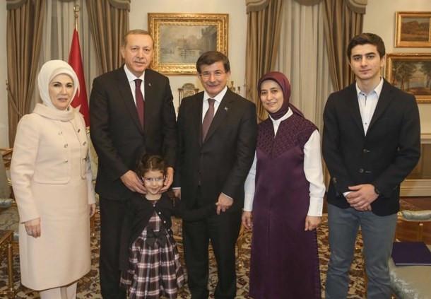Erdoğan'dan Davutoğlu Ailesine sürpriz ziyaret