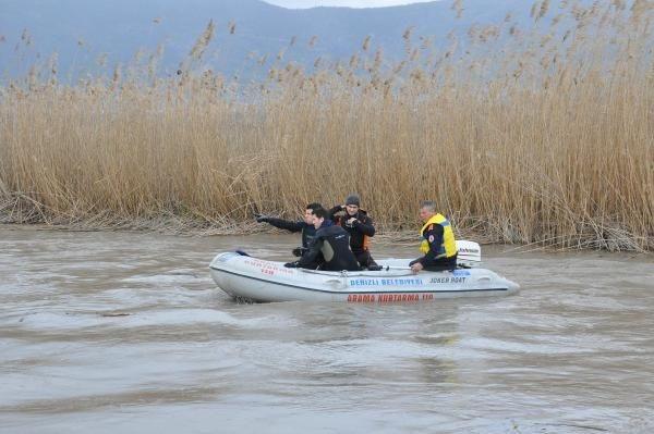 Gölette bot alabora oldu: Üsteğmen kayıp