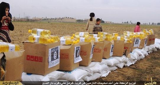 IŞİD, BM yardımlarını kendi logosuyla dağıtıyor