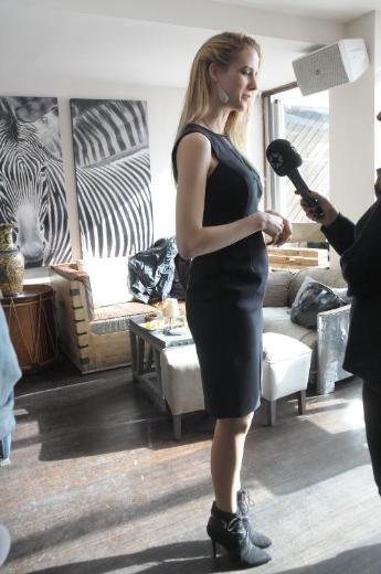 Wilma Elles 2 aylık hamile