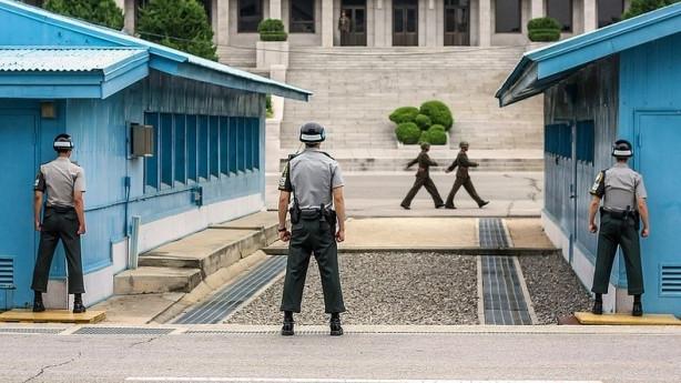 Kore'de masadan geçen sınır