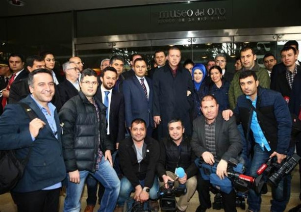 Cumhurbaşkanı Erdoğan'ın Kolombiya ziyareti