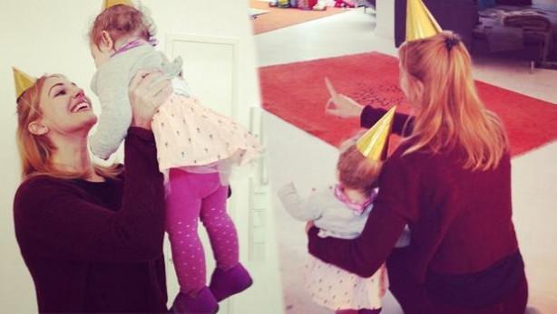 Meryem Üzerli kızının doğum gününü kutladı
