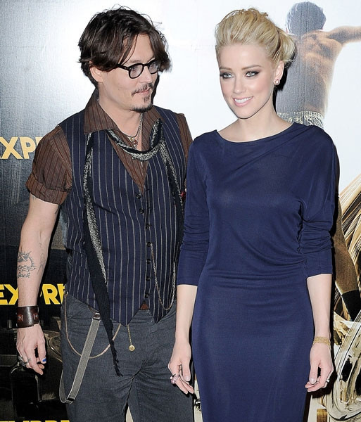Johnny Depp ve Amber Heard'ın düğün fotoğrafları sızdı