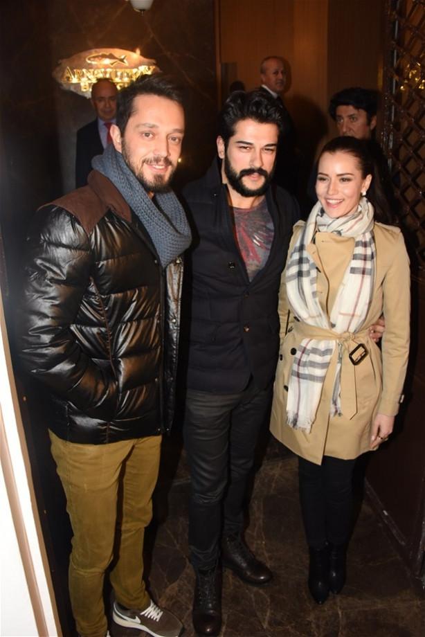 Murat, Burak ve Fahriye bir arada!