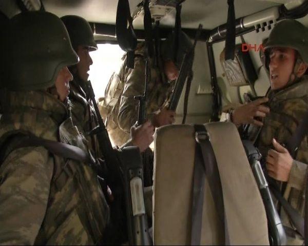 Sınırda görev yapan Mehmetçikleri hiç böyle görmediniz