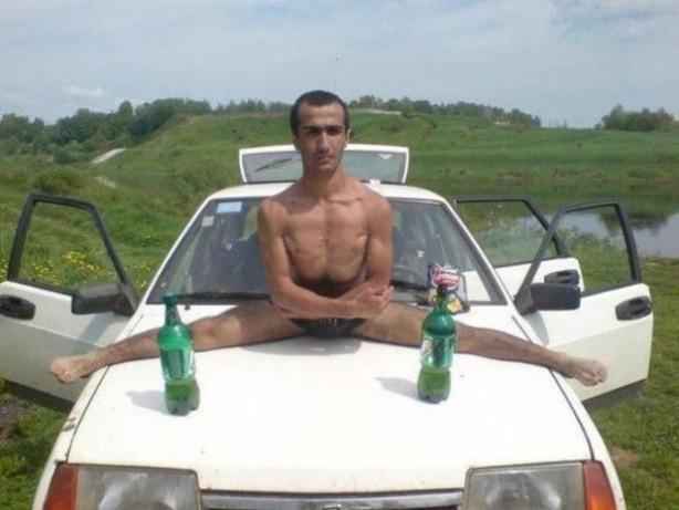 Sadece Rusya'da görebileceğiniz kareler!