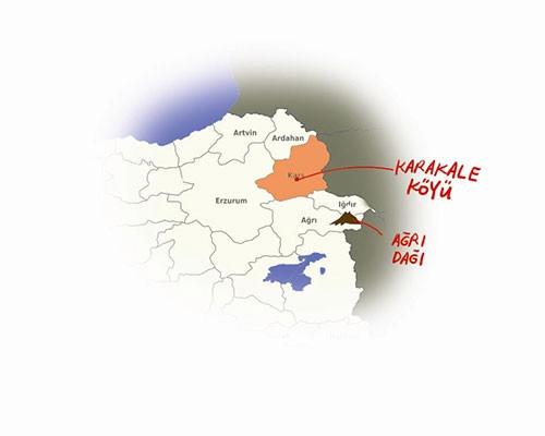 Kim Kardashian'ın memleketi Kars'ın Karakale köyü