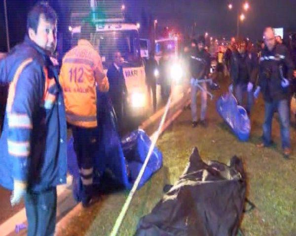 Otomobilin altına aldığı cesetle 5 kilometre gitti