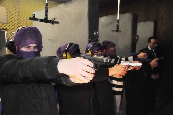 Şefkat-Der'den silah ve savunma eğitimi